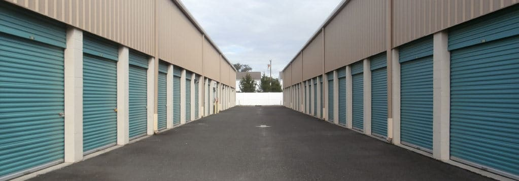 Berlin Self Storage Outdoor Units